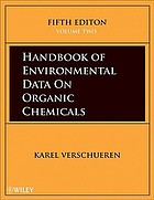Handbook of environmental data on organic chemicals