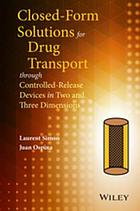 Closed-form solutions for drug transport through controlled-release devices in two and three dimensions