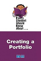 What every student should know about creating a portfolio