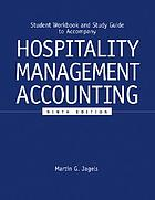 Student workbook and study guide to accompany hospitality management accounting