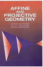 Affine and projective geometry