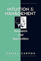 Intuition and management : research and application