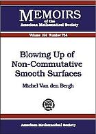 Blowing up of non-commutative smooth surfaces