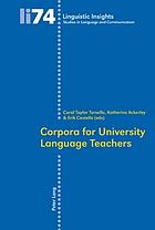 Corpora for university language teachers
