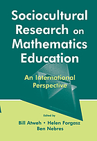 Sociocultural research on mathematics education : an international perspective