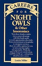 Careers for night owls & other insomniacs