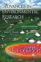 Advances in environmental research. Volume 12