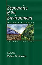 Economics of the environment : selected readings