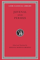 Juvenal and Persius
