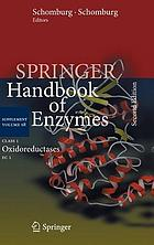 Springer handbook of enzymes. / Supplement volume S8, Class 1, Oxidoreductases, EC 1