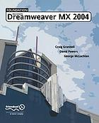 Foundation Macromedia Dreamweaver MX 2004