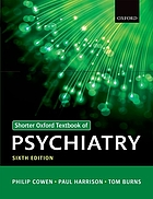 Shorter Oxford textbook of psychiatry.