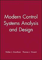 Modern control systems analysis and design