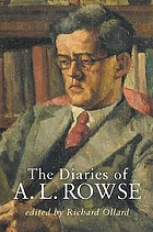 The diaries of A.L. Rowse