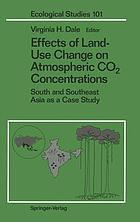 Effects of land-use change on atmospheric C0₂ concentrations : South and Southeast Asia as a case study