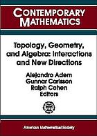 Topology, geometry, and algebra : interactions and new directions : Conference on Algebraic Topology in honor of R. James Milgram, August 17-21, 1999, Stanford University