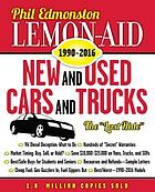 Lemon-aid new and used cars and trucks. 1990-2016