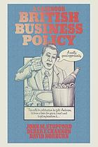 British business policy : a casebook