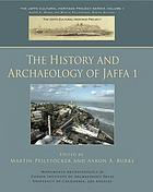 The history and archaeology of Jaffa