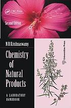 Chemistry of natural products : a laboratory handbook