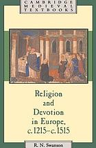 Religion and devotion in Europe, c.1215-c.1515