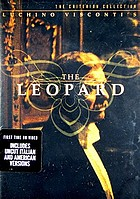 Il gattopardo = The leopard. Disc 1