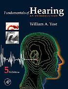 Fundamentals of hearing : an introduction