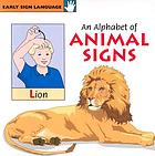 An alphabet of animal signs.