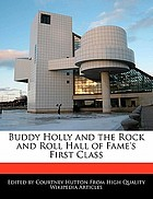 Buddy Holly and the Rock and Roll Hall of Fame's first class