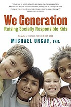 We generation : raising socially responsible kids