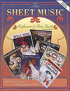 The sheet music reference & price guide