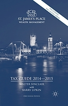 St. James's Place tax guide, 2014-2015