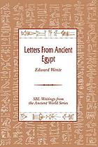 Letters from Ancient Egypt cover image