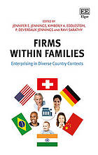 Firms within families : enterprises in diverse country contexts