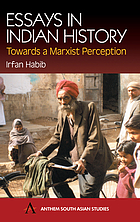 Essays in Indian history : towards a Marxist perception