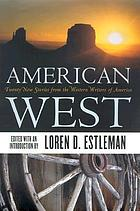 American West : twenty new stories