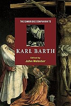 The Cambridge companion to Karl Barth