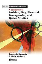 A Companion to Lesbian, Gay, Bisexual, Transgender, and Queer Studies cover image