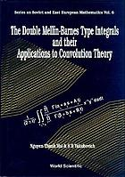 The double Mellin-Barnes type integrals and their applications to convolution theory
