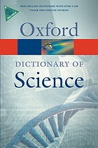 A dictionary of science.
