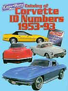 Catalog of Corvette ID numbers 1953-93