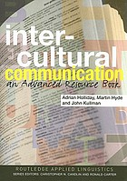 Intercultural communication : an advanced resource book