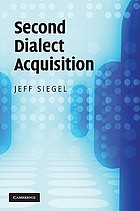 Second dialect acquisition