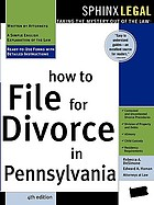 How to file for divorce in Pennsylvania