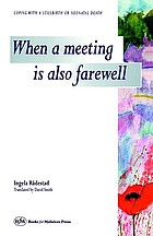 When a meeting is also farewell : coping with a stillbirth or neonatal death