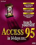 Teach yourself Access 95 in 14 days