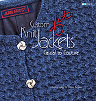 Custom knit jackets : casual to couture