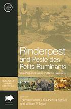 Rinderpest and peste des petits ruminants : virus plagues of large and small ruminants