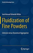Fluidization of fine powders : cohesive versus dynamical aggregation