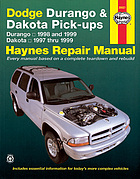 Dodge Durango & Dakota pick-ups automotive repair manual